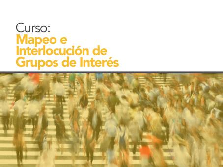 CURSO: Mapeo e Interlocución con Grupos de Interés: