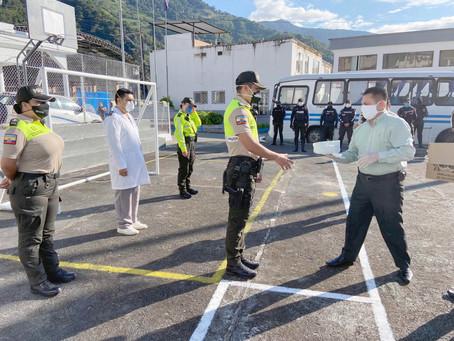 LUNDIN GOLD continúa apoyando en la mitigación del Covid-19 en Zamora Chinchipe