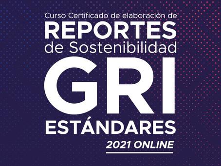 Curso Certificado GRI Estándares. 100% On-line. Septiembre 2021