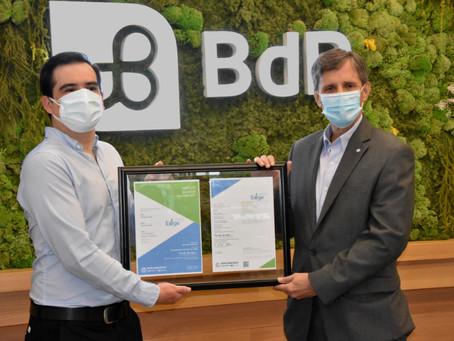 BANCO DEL PACÍFICO obtiene certificación final EDGE por la construcción de edificio sostenible