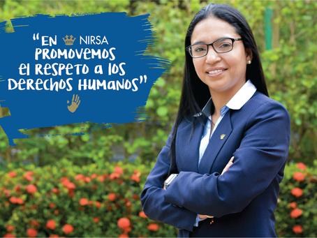 NIRSA promueve el respeto a los Derechos Humanos