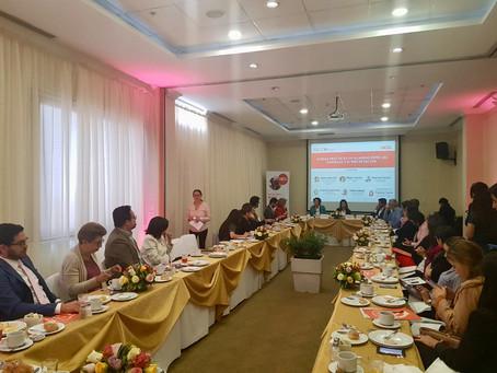 Fundación Ayuda en Acción organizó desayuno sobre la importancia de las Alianzas, con el apoyo de CE