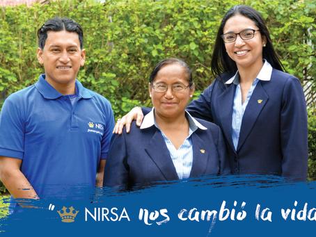 Beneficiarios de programas de educación de NIRSA agradecen a la Empresa