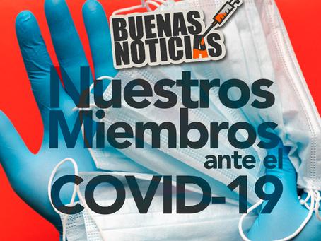 Miembros de CERES frente al COVID-19