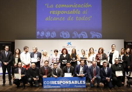 Miembros de CERES recibieron premio Corresponsables