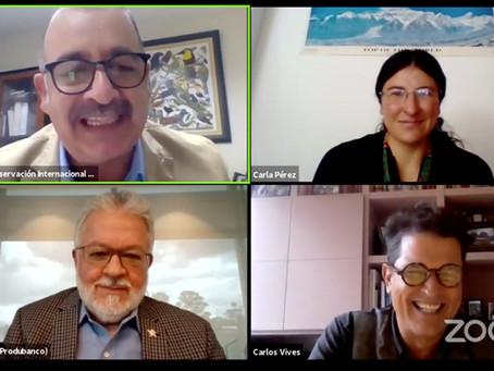 """CONSERVACIÓN INTERNACIONAL: campaña """"La naturaleza nos habla"""" en un diálogo en vivo con Carlos Vives"""