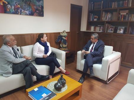 CERES visitó a miembros y aliados de Cuenca