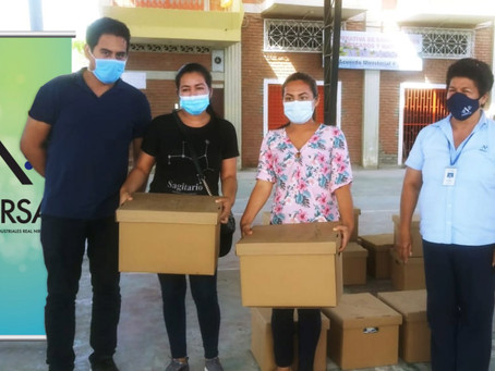NIRSA donó kits escolares a centros de desarrollo infantil