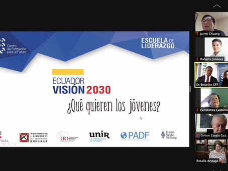 """FUNDACIÓN FIDAL: """"Visión País 2030"""" de jóvenes, fue socializada con los candidatos 2021"""