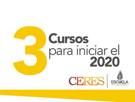 CERES presenta: 3 Cursos para iniciar el 2020
