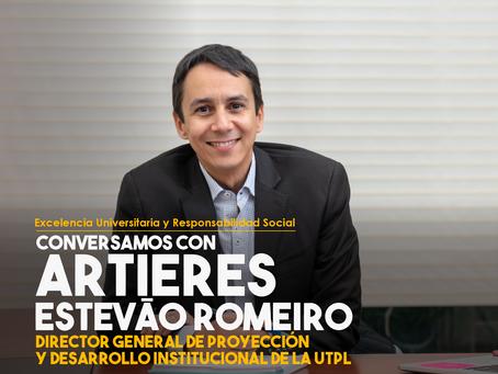 Conversamos con Artieres Estevão Romeiro, Director General de Proyección y Desarrollo Institucional