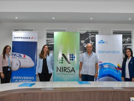 NIRSA se convierte en el primer socio del Programa de Combustible de Aviación Sostenible (SAF)