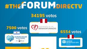 DIRECTV: anuncia a los ganadores de The Forum, concurso que convoca a todas las ONG de la región
