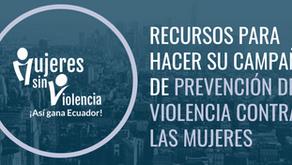 GIZ y CERES presentaron Recursos para Campañas de Prevención de Violencia contra la Mujer