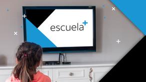 DIRECTV: ESCUELA+ renueva sus contenidos y da un gran paso para apoyar la educación a distancia