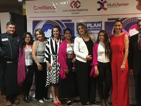 Plan Internacional: Cena Benéfica para recaudar fondos para las niñas en situación de vulnerabilidad