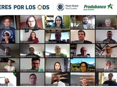 PRODUBANCO lidera la mesa de trabajo ODS 17 de la iniciativa para el cumplimiento de los Objetivos d