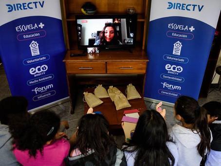 DIRECTV realiza por primera vez un voluntariado virtual