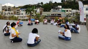 En el marco del Día Mundial del Refugiado, FUDELA  y ACNUR llevaron a cabo un taller lúdico