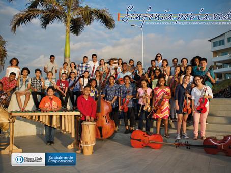 DINERS CLUB con su programa SINFONÍA POR LA VIDA estará presente en un concierto en Esmeraldas