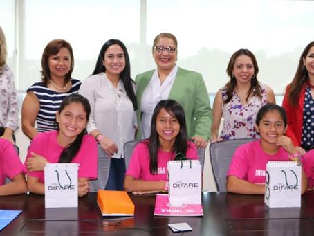 Plan Internacional y Grupo DIFARE inician                            programa de mentoría con niñas