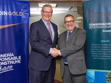 LUNDIN GOLD y Conservación Internacional firman acuerdo de colaboración