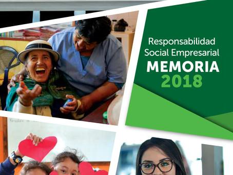 PRODUBANCO publicó su memoria de Responsabilidad Social