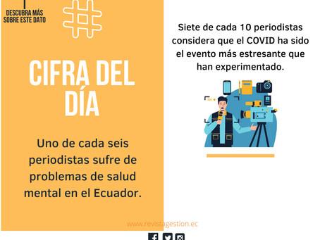 UTPL: Informe sobre la salud mental de los periodistas ecuatorianos durante la pandemia