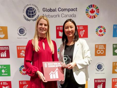 LUNDIN GOLD gana el Segundo Premio del Pacto Global de Naciones Unidas por sus mejores prácticas de