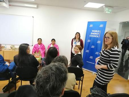 CERES participó como ponente en evento Women In Energyen Ecuador