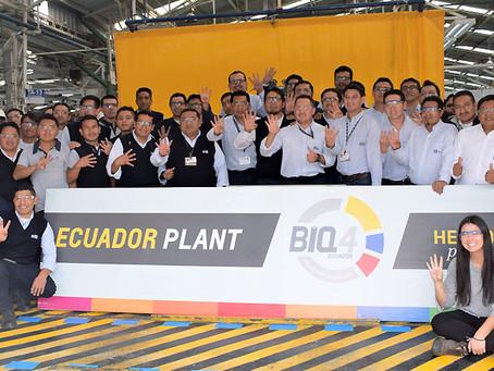 General Motors OBB del Ecuador obtuvo la Re certificación BIQ 4