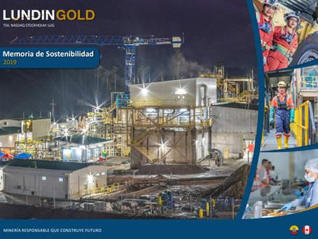 LUNDIN GOLD presenta su Memoria de Sostenibilidad 2019