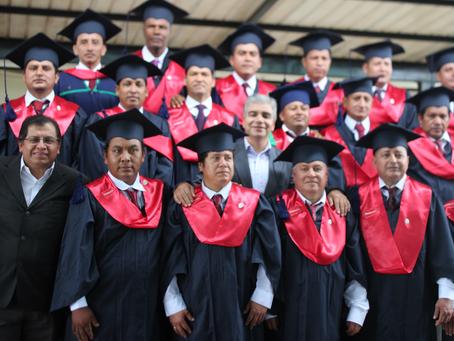 """PRONACA: nuevos graduados del programa """"Nunca es tarde para aprender"""""""