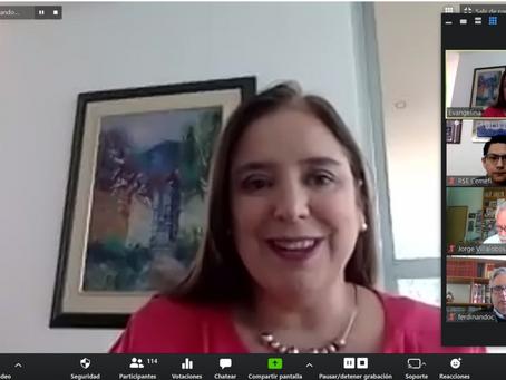 Webinar: Acciones de las Empresas Socialmente Responsables de Latinoamérica frente al COVID 19 contó