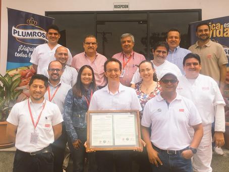 PRONACA  obtiene un nuevo reconocimiento como Empresa Ecoeficiente