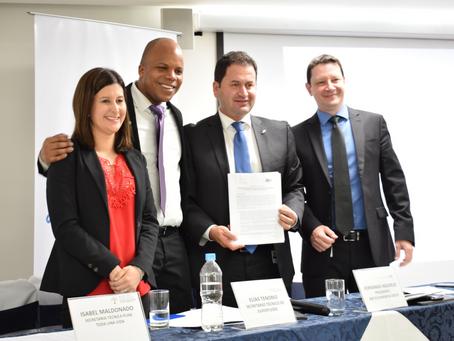 GM OBB del Ecuador y la Secretaría Técnica de Juventudes firman convenio de cooperación interinstitu