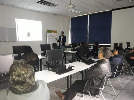 CERES dictó taller de Valorización de Residuos y Economía Circular en EPMAPS