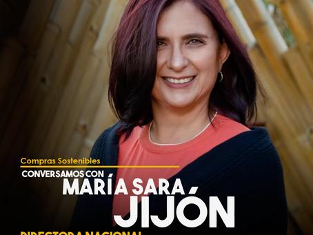 Conversamos con María Sara Jijón, Directora General del Servicio Nacional de Contratación Pública