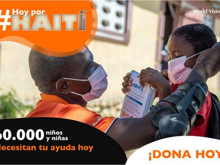 WORLD VISION: La ayuda es urgente: la niñez de Haití nos necesita