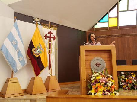 CERES participó como ponente en Congreso Empresarial en Guayaquil