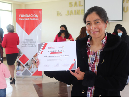 HOLCIM: 44 mujeres aprenden nuevas habilidades y reactivan su economía