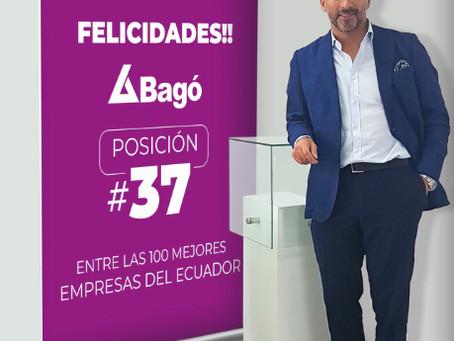 Laboratorios Bagó ascendió 60 puestos en el Ranking Merco de las 100 empresas con mejor reputación