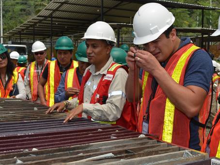 Gobernador de Bolívar y autoridades de la provincia, conocieron la gestión de minería responsable de