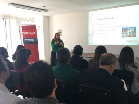 CERES dictó charla a directivos de EMAC en Cuenca