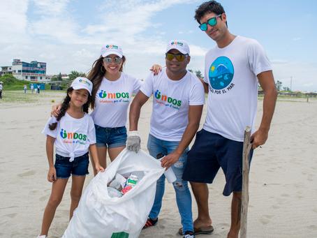 Voluntarios de Corporación Maresa realizaron mingas para limpieza costera