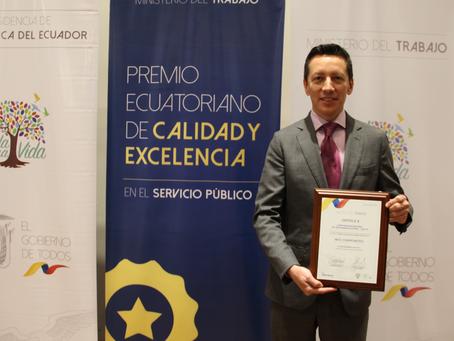 CNT reconocida por su calidad y excelencia en el servicio público