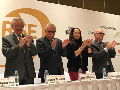 4 Miembros de CERES recibieron reconocimiento en México