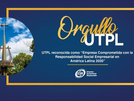 UTPL reconocida a nivel internacional por acciones de Responsabilidad Social