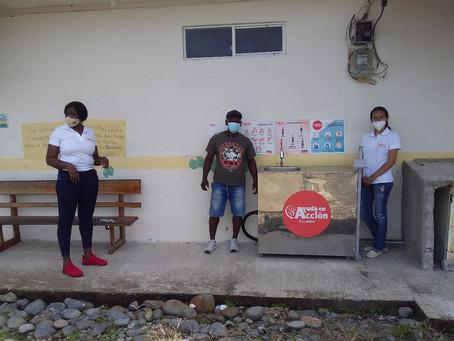 AYUDA EN ACCIÓN: 14.228 personas beneficiadas con la instalación de lavamanos