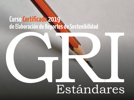 CURSO CERTIFICADO GRI 2019